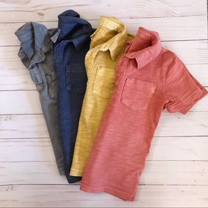 Carter's 4 piece 2T polo shirt bundle